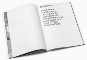 Vor Ort Sennestadt catalogue artists